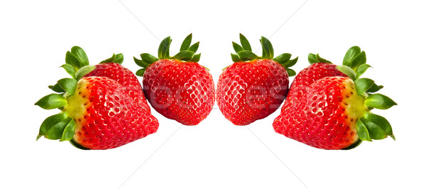 Strawberry, isolated on a white background. Stock photo © g215
