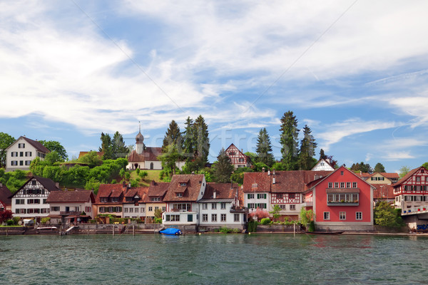 view of Stein Am Rhein. Switzerland. Europe  Stock photo © g215