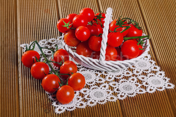 свежие помидоров лист фон завода Сток-фото © g215