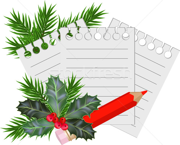 Christmas and New Year card Stock photo © g215