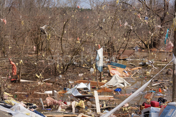 Tornado aftermath in Lapeer, MI. Stock photo © gabes1976