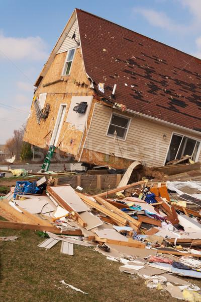 Tornado 15 casa Oregón 2012 Foto stock © gabes1976