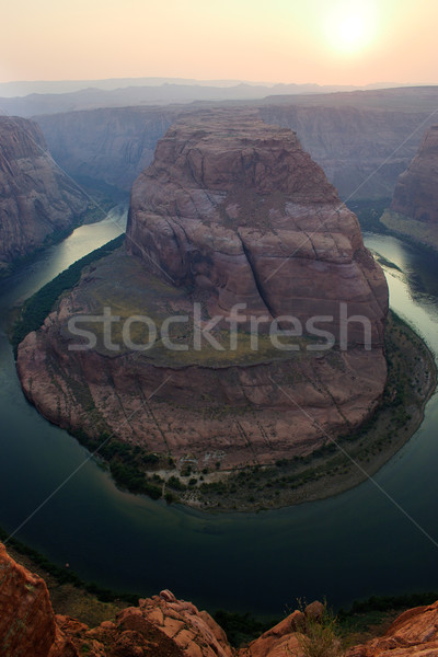 Horseshoe Bend, Page, Arizona Stock photo © gabes1976