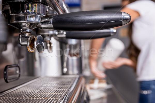 Coffee machine Stock photo © gabor_galovtsik