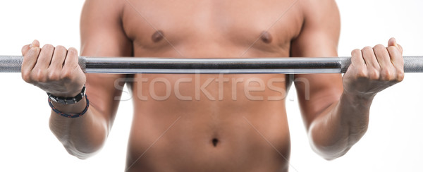 Weightlifting Stock photo © gabor_galovtsik