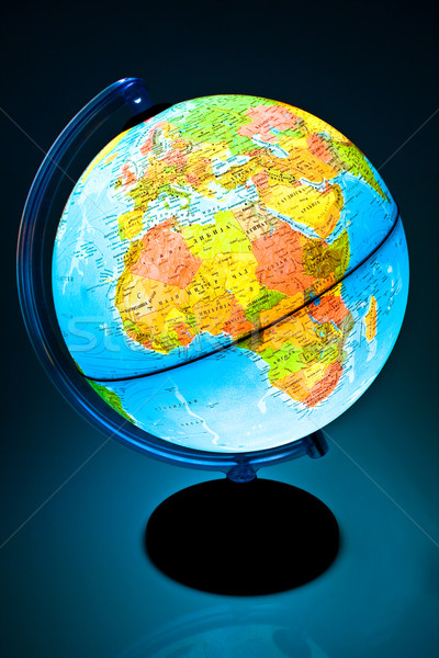 Illuminated Globe Stock photo © gavran333