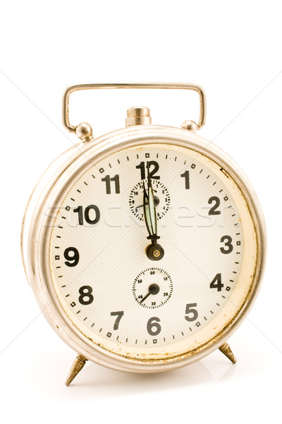 Old clock with stuck hands Stock photo © gavran333