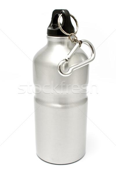 Gri alüminyum su yalıtılmış beyaz Stok fotoğraf © gavran333