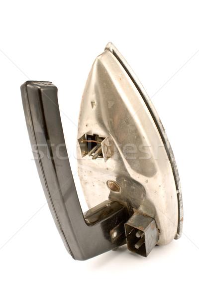 古い 電気 鉄 孤立した 白 作業 ストックフォト © gavran333