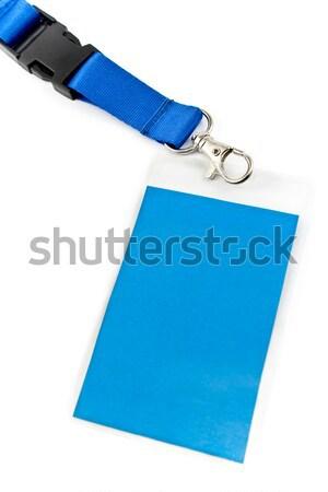 イド カード タグ 孤立した 白 オフィス ストックフォト © gavran333