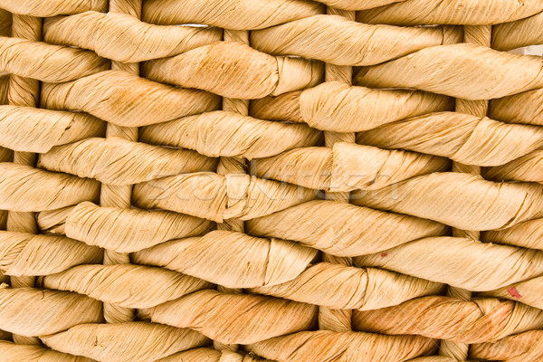 Woven straw pattern texture Stock photo © gavran333
