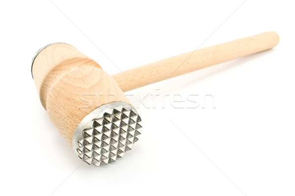 Wooden hammer for meat i Stock photo © gavran333