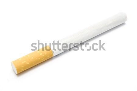 Cigarro isolado branco fumador droga câncer Foto stock © gavran333