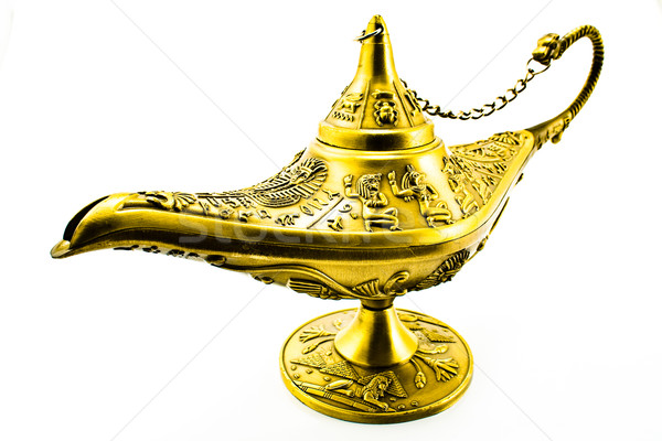 Aladdin`s  magic genie  lamp Stock photo © gavran333
