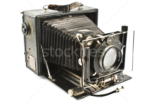 Antique Old photo Camera Stock photo © gavran333