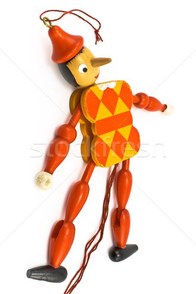 Mechanische Spielzeug isoliert weiß Geschenk Fee Stock foto © gavran333