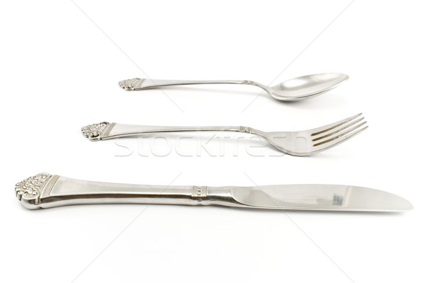 Cutlery set with Fork, Knife and Spoon Stock photo © gavran333