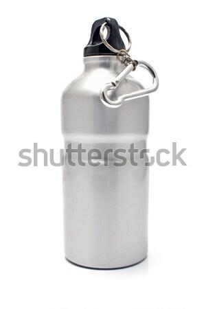 Cinza alumínio água isolado branco Foto stock © gavran333