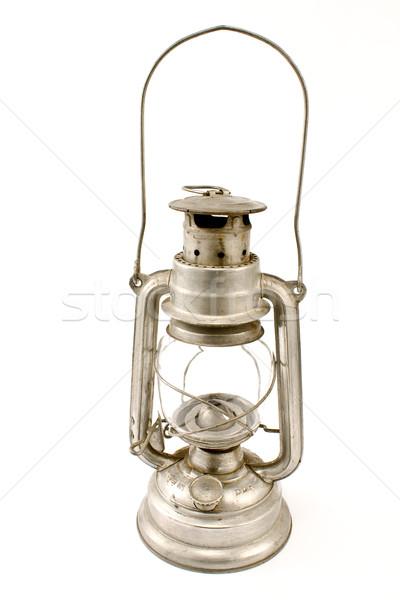 古い 石油ランプ 孤立した 白 光 キッチン ストックフォト © gavran333