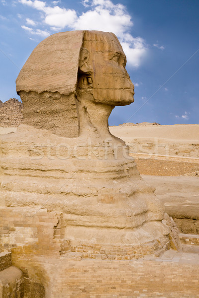 Egyptian Sphinx Stock photo © Gbuglok