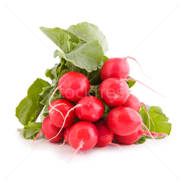 Red radish vegetable Stock photo © Gbuglok