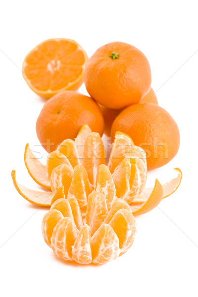 Tangerines fruits Stock photo © Gbuglok