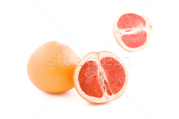 Red grapefruits Stock photo © Gbuglok