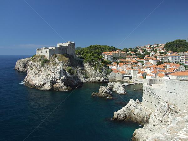 Croatie côte européenne ville dubrovnik été Photo stock © Gbuglok