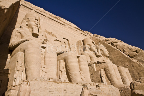 Stone statues in Egypt Stock photo © Gbuglok