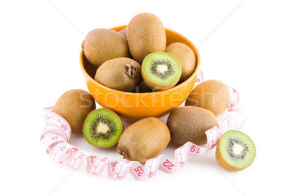 Kiwi bol fruits fruits Photo stock © Gbuglok