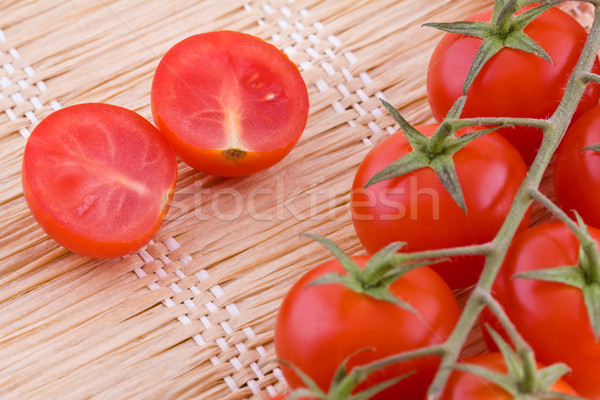Red small tomatoes Stock photo © Gbuglok