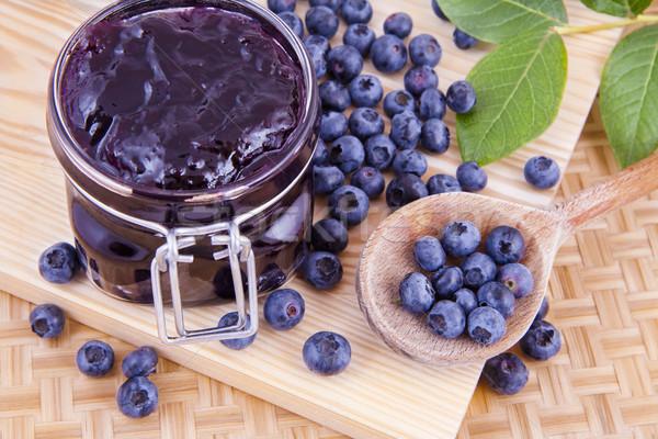 Blueberry fruits jam Stock photo © Gbuglok