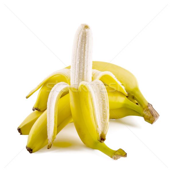 新鮮な バナナ 果物 孤立した 白 ストックフォト © Gbuglok
