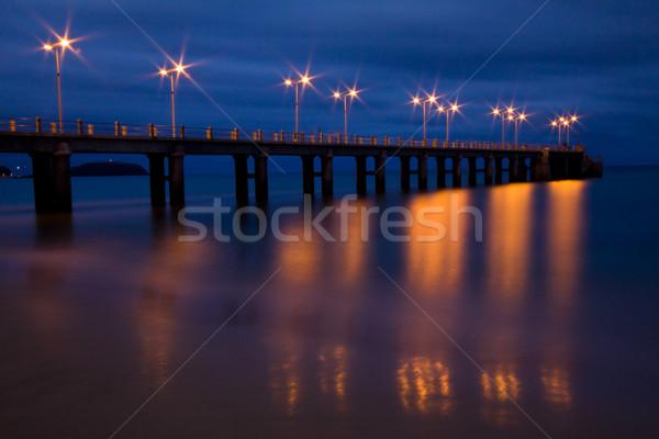 Pier in Porto Santo Stock photo © Gbuglok