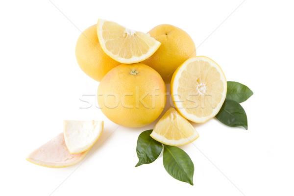 Blanche juteuse fraîches isolé nature fruits Photo stock © Gbuglok