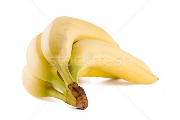 Bananes fraîches tropicales fruits isolé Photo stock © Gbuglok