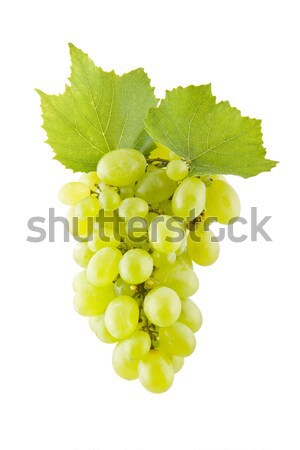 Grapes on white Stock photo © Gbuglok