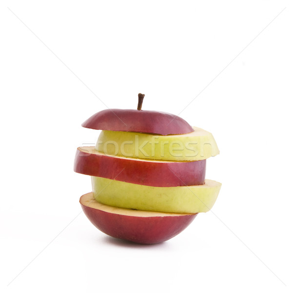 Mixed apple Stock photo © Gbuglok