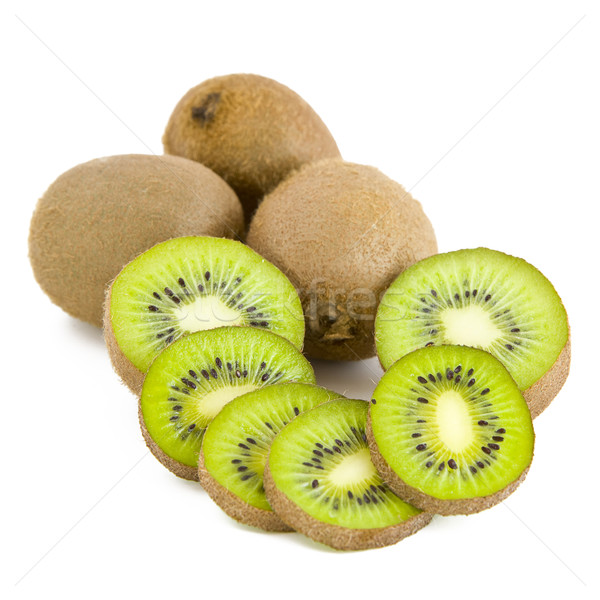 Kiwi fruits, slices Stock photo © Gbuglok
