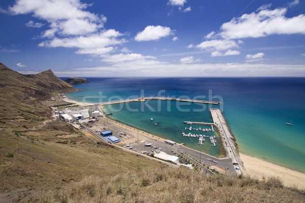 Porto Santo harbor Stock photo © Gbuglok
