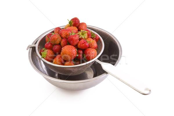 イチゴ 新鮮な おいしい 孤立した 白 食品 ストックフォト © Gbuglok