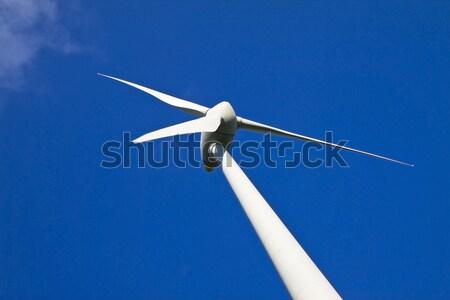 風車 青空 代替案 エネルギー ソース 技術 ストックフォト © Gbuglok