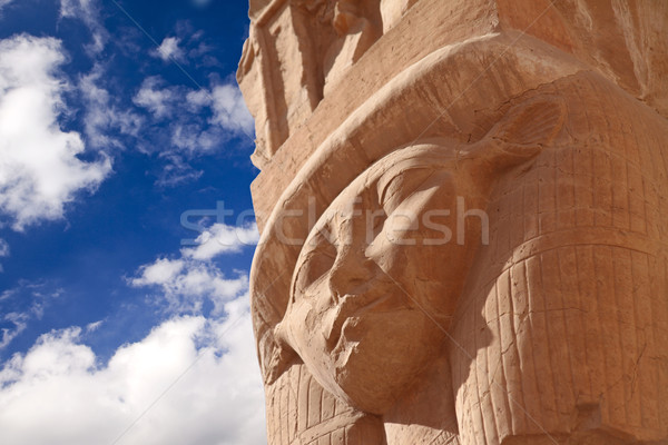 Ancient stone statue Stock photo © Gbuglok