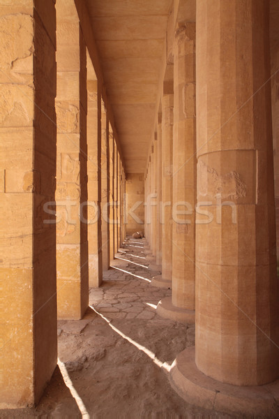 Square and round columns Stock photo © Gbuglok