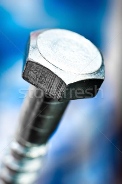 metal bolt head Stock photo © GekaSkr