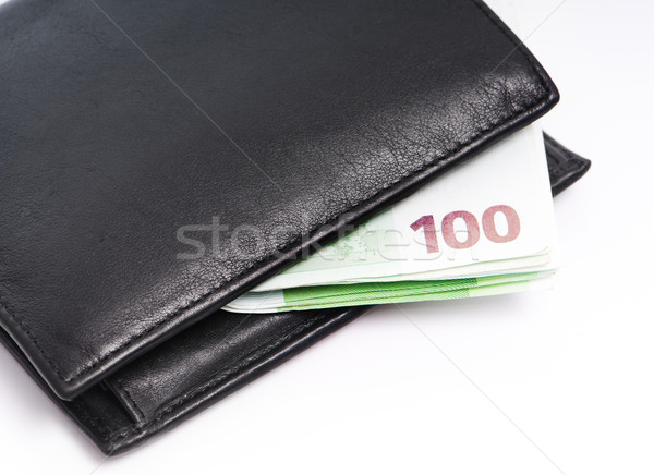 wallet and money Stock photo © GekaSkr
