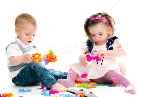 子供 演奏 おもちゃ 子供 家族 ストックフォト © GekaSkr