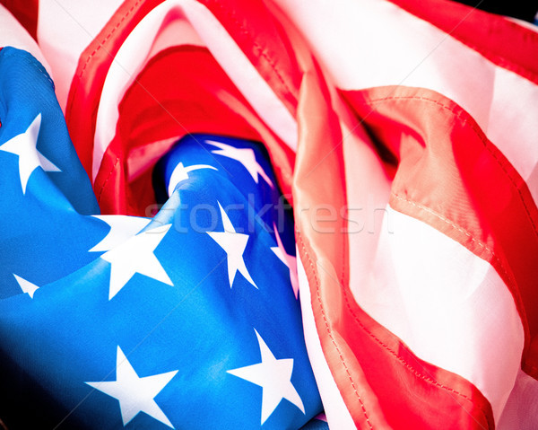 flag of usa Stock photo © GekaSkr