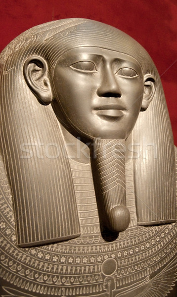 Egyptian sarcophagus Stock photo © GekaSkr