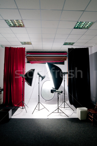 photo studio Stock photo © GekaSkr